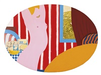 great american nude #42 by tom wesselmann