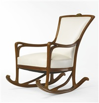 rocking chair by louis majorelle
