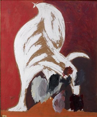 taureau blanc by oscar domínguez