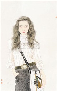 少女 by jiang zhifeng