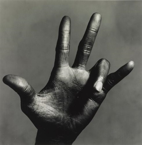 the hand of miles davis c new york by irving penn