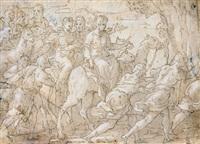 christi einzug in jerusalem by marcantonio bassetti