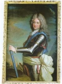 portrait de philippe d'orléans, régent de france by louis rené vialy