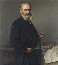 portrait des karl heintges by carl maria seyppel
