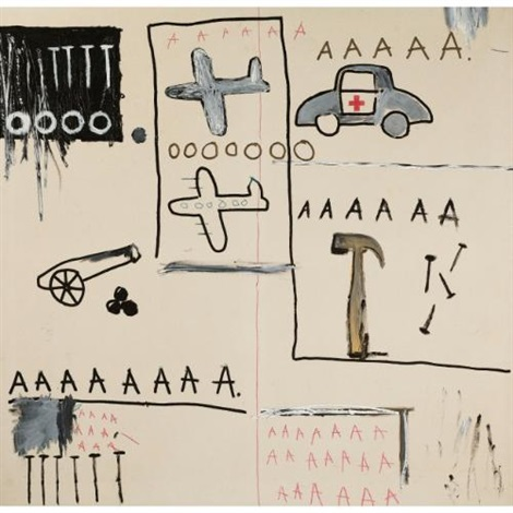 untitled by jean michel basquiat
