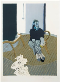 selfportrait n° 2 by francis bacon