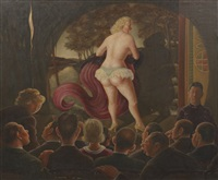 grand theatre burlesque by clyde singer