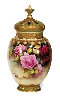 a covered pot pourri by william e. jarman