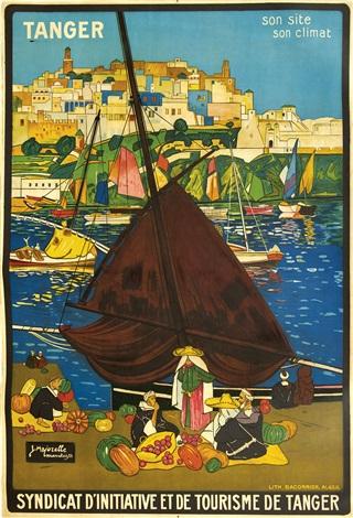Tanger Son Site Son Climat By Jacques Majorelle On Artnet