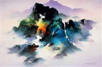mountain mist by hong leung