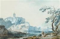 vue fantaisiste du portugal by alexandre jean noel