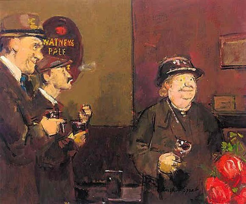 in the pub by ruskin spear