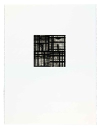 tiles (set of 4) by brice marden