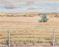 untitled - bountiful saskatchewan by ernest lindner