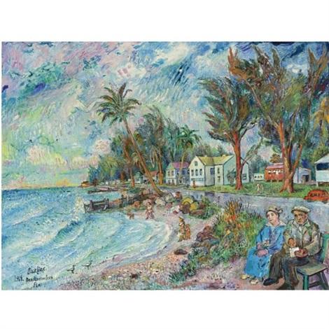 Bradenton Beach, Florida by David Burliuk on artnet