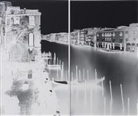 palazzo papadopoli venice xix: march 14 (diptych) by vera lutter