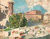 piazza castello by evangelina gemma alciati