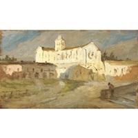 terracina, abbazia di fossanova by giovanni piancastelli