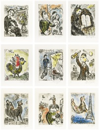 songes (portfolio of 20) by marc chagall