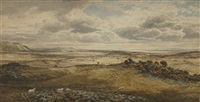 view of the forth of firth from east lothian by samuel bough
