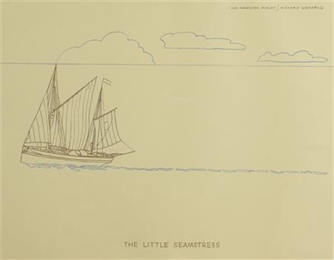 the little seamstress by ian hamilton finlay