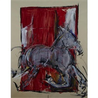 untitled (horse) by christopher kier