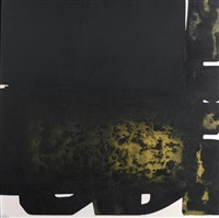 eau forte xxii by pierre soulages