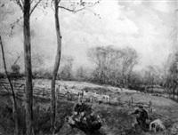 an english landscape by arthur j. legge