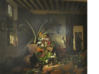 interior with still life by david emile joseph de noter