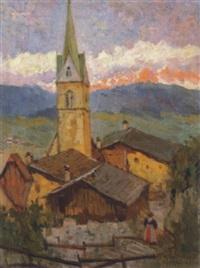 pfarrkirche in kaltern by julius von kaan-albest