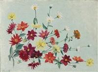 jetée de fleurs by achille laugé