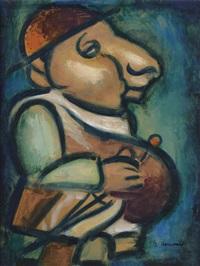 le père ubu by georges rouault