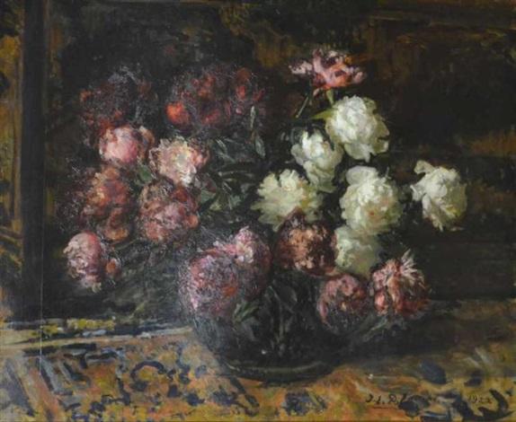 bouquet de fleurs by jacques emile blanche