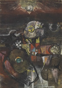 untitled - abstract composition by alexander skunder boghossian
