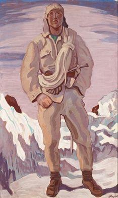 bergsteiger by ferdinand andri