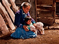 a navajo grandma's touch by ray swanson