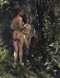 dans la forêt by vassili brataniuk
