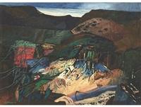 dark landscape by eben van der merwe