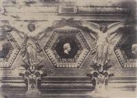 détail de la frise de la salle des sept cheminées du louvre by rose joseph lemercier