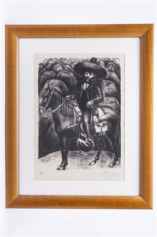 emiliani zapata by david alfaro siqueiros