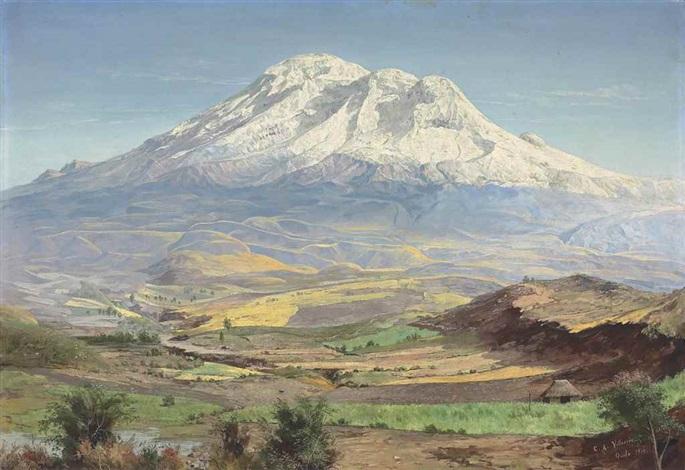 Mount Chimborazo, Ecuador by Cesar A  Villacres on artnet