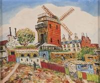 le maquis de montmartre et le moulin de la galette by elisée maclet