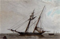 portrait of a ship by henry almack