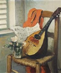 la mandoline, 1960 by marcel dyf