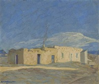 the cloud, taos by walter ufer