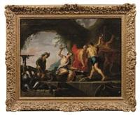 la fucina di vulcano by willem van herp the elder