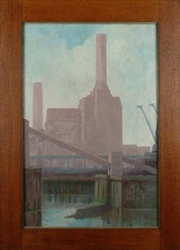 battersea power station by john wilson jowsey