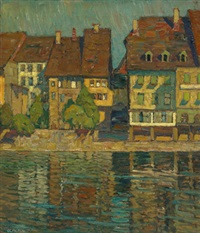 stadt am kanal by richard albitz