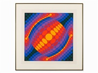 planeta by victor vasarely