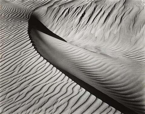 dune california by brett weston